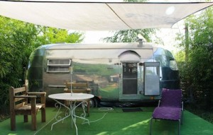 Our Airstream garden by day