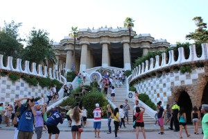 Park Guell - another of Gaudi's creations