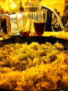 The home of paella