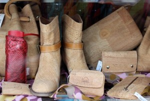 Even cork boots - of course!