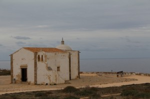 All that really remains of Henry's days in Sagres - the humble chapel looking out to sea