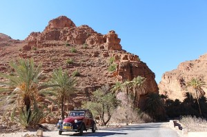 At the end of the Ait Mansour gorge