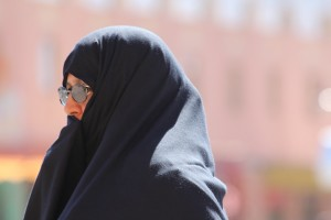 In some parts of the mountains, women almost only ever wear black