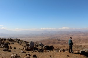 Just one part of the Atlas mountains