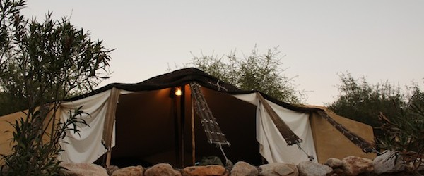 Our Berber tent