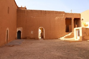 This courtyard was oringally the kitchen, hammam and stables