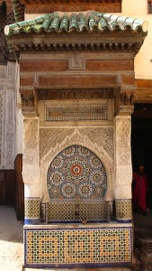 Fes medina has hundreds of public fountains