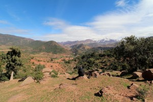 Just the spot for a picnic in the High Atlas