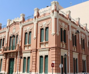 Melilla architecture is beautiful