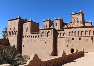 The most famous kasbah in Morocco - Amridil - as seen on a 50 dirham note