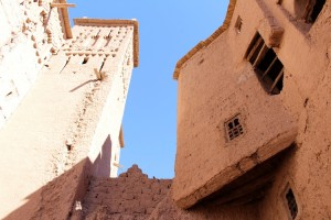 The mudbrick walls of Kasbah Amridil have stood the test of time - just!