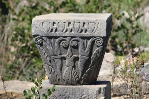 Volubilis column decoration