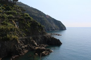 Part of the coastal walk of Cinque Terre