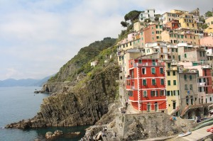 Riomaggoire and the Cinque Terre coastline