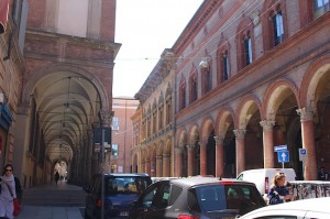 There are 40km of collonades in Bologna