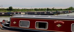 Narrow boats abound