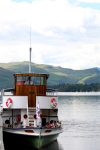 One of the historic Ullswater Steamers