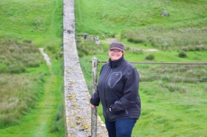 Standing on Hadrian's Wall