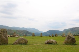 The Standing (not very tall) Stones of Castlerigg
