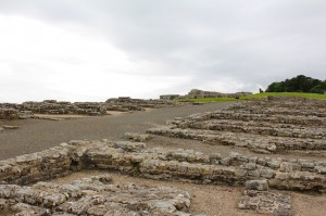 The soldiers barracks at Hadrian's Wall