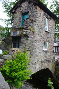 The tiny Bridge House - home to a family of ten in Ambleside