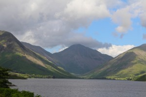 Wast Water - the deepest lake in the district