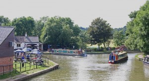 Foxton Locks can be a busy little intersection