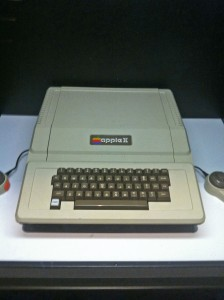 One of the first bytes from the Apple