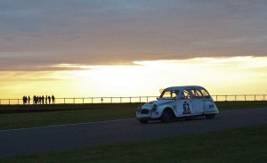 Four drivers took turns over 24hours - gruelling by any standards