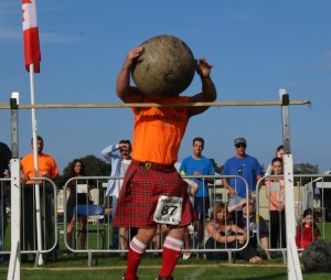 Just pick up this 110kg stone and throw it over that bar, would you