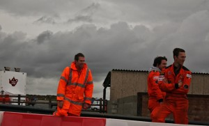 The Anglesey Circuit marshals had never seen anything like this racing before!