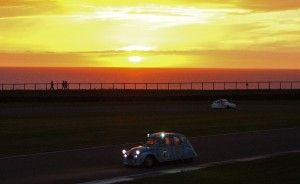 The circuit has spectacular views out to sea and great sunsets