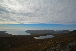 The view from the Cuillin - nearly high enough to touch the sky