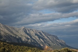The mountains of Sardinia give great drama to the island