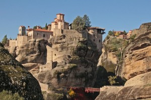 If you want to access most of the monasteries you will have to cross bridges and hike steep steps