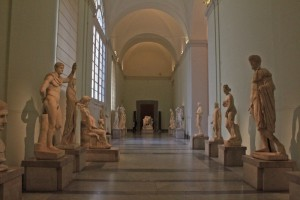Naples Archaeology Museum has a huge collection of artifacts from Pompeii & Herculaneum