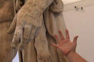 Some of the statues in the Naples Archeaology Museum are enormous