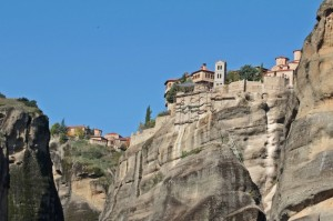 The monasteries kept expanding until they became massive complexes on the mountain tops