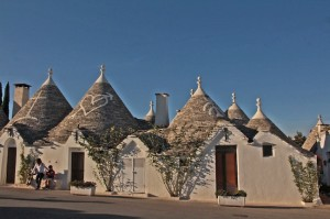 The trulli of Alberobello are a UNESCO World Heritage site.