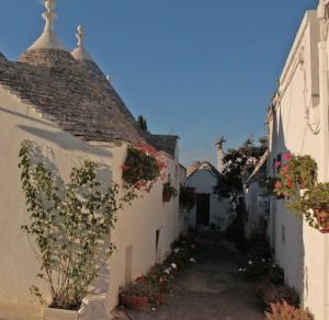 The trulli village in Alberobello is a great tourist draw