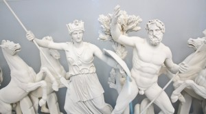 This is what part of the Parthenon frieze would have looked like if Elgin had not stolen pieces and smashed the rest