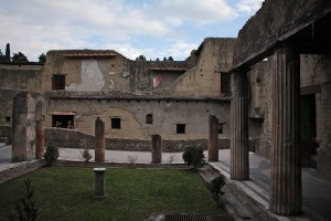 This was a grand house, and owned by a free man in Herculaneum