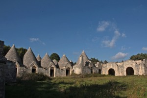 Trulli attract tourists, but this hotel resort looks like it ran out of cash before completion