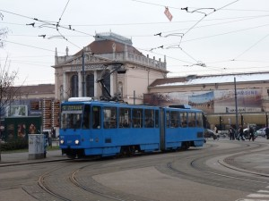 Zagreb station as featured in James Bond's From Russia with Love