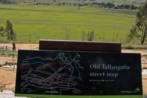 How Tallangatta used to look before it was flooded