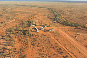 Anna Creek - the largest cattle station in the world, makes the Dog Fence look like a row of toothpicks