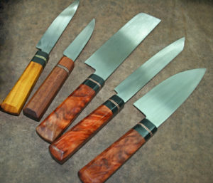 Our finished knives