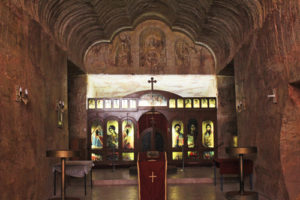 The underground Serbian Church is one of many different denominations