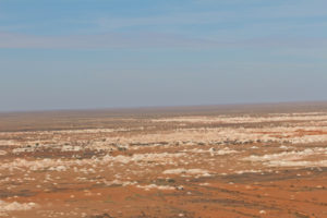 They say there are four million mine shafts around Coober Pedy