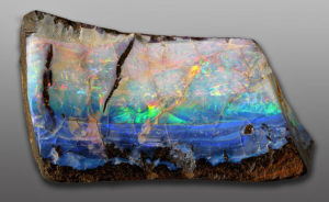 Boulder opals are indeed part boulder and part opal